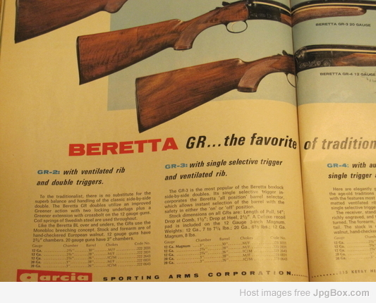 Help identifying a Beretta - The DoubleGun BBS @ doublegunshop com